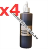 Picture of Compatible Toner Refills (Includes 4 Toner Chips) x4 Times Yield - suits Ricoh SP 204SF